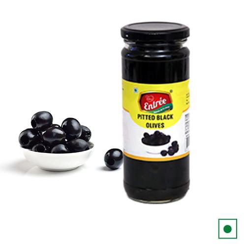 Entrèe Black Pitted Olives | Fresh olives online